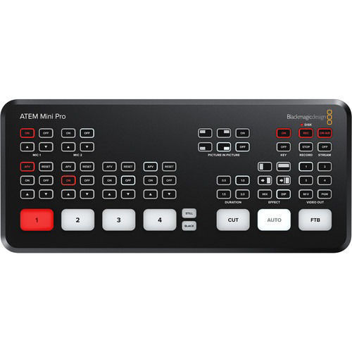 buy Blackmagic Design ATEM Mini Pro HDMI Live Stream Switcher in India imastudent.com