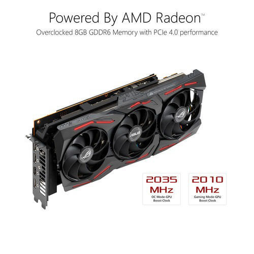 ASUS Republic of Gamers Strix Radeon RX 5700 XT OC Edition Graphics Card price in india features reviews specs