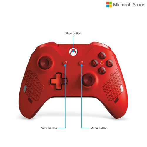 Microsoft Xbox Wireless Controller - Sport Special Edition (Red) price in india features reviews specs