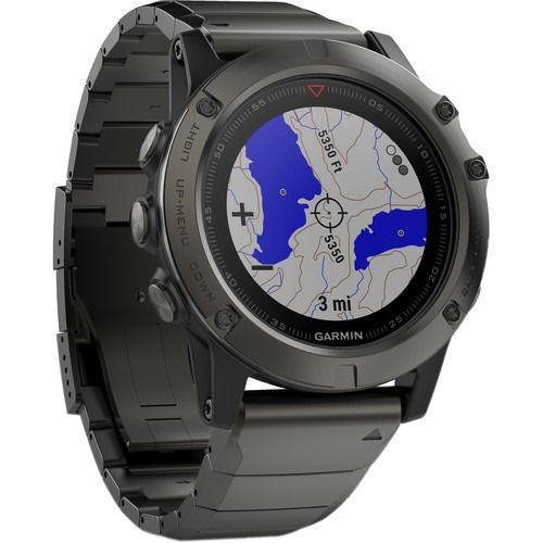 Garmin fenix 5X Sapphire Edition Multi-Sport Training GPS Watch price in india features reviews specs