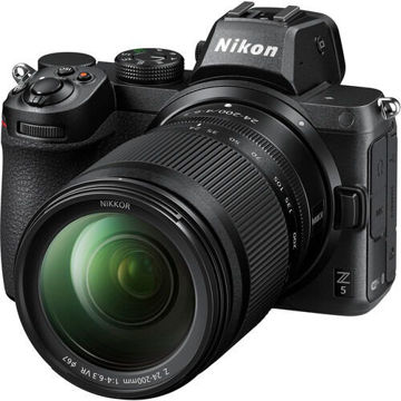 Nikon Z 5 Mirrorless Digital Camera with 24-200mm Lens price in india features reviews specs