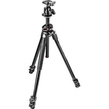 buy Manfrotto 290 Dual Aluminum Tripod with Ball Head - MK290DUA3-BH in India imastudent.com
