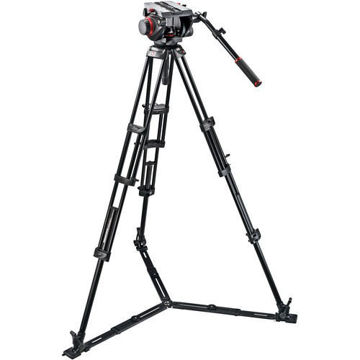 Manfrotto 509HD Video Head & 545GB Aluminum Tripod price in india features reviews specs