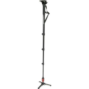 Manfrotto 560B-1 Aluminum Fluid Video Monopod price in india features reviews specs