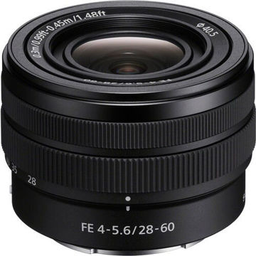 Sony FE 28-60mm f/4-5.6 Lens price in india features reviews specs