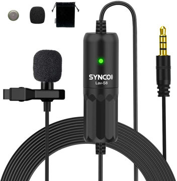 SYNCO Lav-S8 Lavalier Microphone price in india features reviews specs