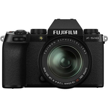 FUJIFILM X-S10 Mirrorless Digital Camera with 18-55mm Lens price in india features reviews specs