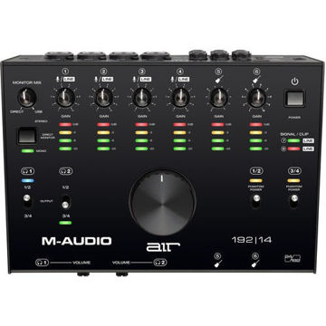 M-Audio AIR 192|14 USB 8x4 Audio Interface with MIDI price in india features reviews specs
