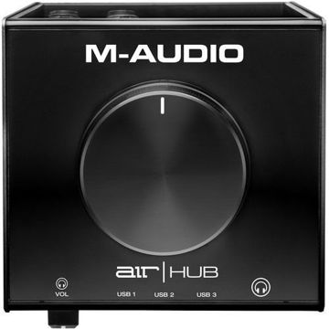 M-Audio AIR | Hub Desktop USB Monitoring Interface with Built-In 3-Port Hub price in india features reviews specs