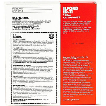 Ilford ID-11 Film Developer (Powder) for Black & White Film price in india features reviews specs