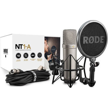 Rode NT1-A Large-Diaphragm Condenser Microphone price in india features reviews specs