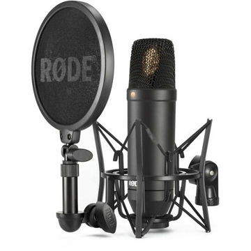 "Rode NT-1 KIT 1"" Cardioid Condenser Microphone with SM6 Shockmount price in india features reviews specs"