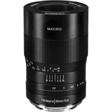 7artisans Photoelectric 60mm f/2.8 Macro Lens for Sony E price in india features reviews specs