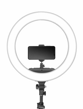 Digitek LED Ring Light DRL-18R with No Shadow Apertures price in india features reviews specs