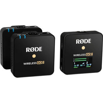 Rode Wireless GO II 2-Person Compact Digital Wireless Microphone System price in india features reviews specs