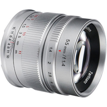 Buy 7artisans Photoelectric 55mm f/1.4 Lens for Canon EF-M at Lowest Price in India