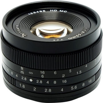 7artisans Photoelectric 50mm f/1.8 Lens for Micro Four Thirds