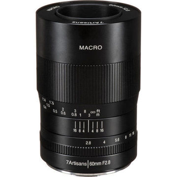 7artisans Photoelectric 60mm f/2.8 Macro Lens for  Micro Four Thirds in india features reviews specs