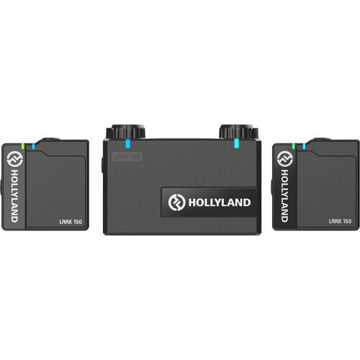 Hollyland LARK 150 Wireless Dual Microphone System (2.4 GHz) price in india features reviews specs