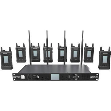 Hollyland Syscom 1000T-8B Full-Duplex Intercom System with Eight Beltpacks and Headsets price in india features reviews specs