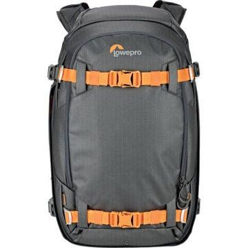 buy Lowepro Whistler Backpack 350 AW II (Gray)  Backpack (Black) in India imastudent.com
