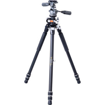 Vanguard VEO 3+ 263AP Aluminum Tripod with VEO 2 PH-38 Pan Head price in india features reviews specs