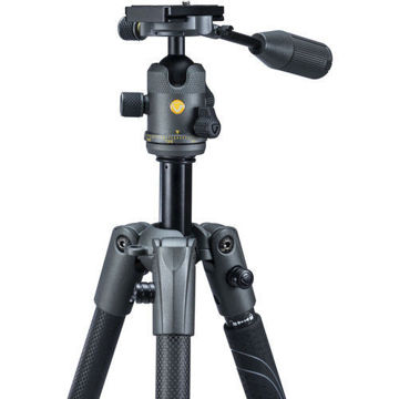 Vanguard VEO 2X 235CBP Carbon Fiber 4-in-1 Tripod with BP-50 Ball/Pan Head price in india features reviews specs
