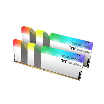 Thermaltake 32GB TOUGHRAM RGB Memory DDR4 3600MHz 32GB (16GB x 2)-White price in india features reviews specs