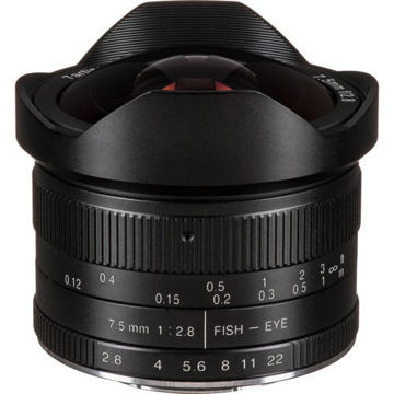 7artisans Photoelectric 7.5mm f/2.8 Fisheye Lens for Micro Four Thirds in india features reviews specs
