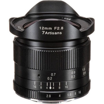 7artisans Photoelectric 12mm f/2.8 Lens for Micro Four Thirds in india features reviews specs