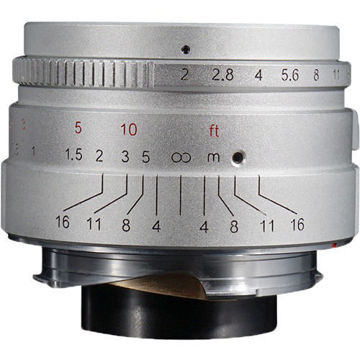 7artisans Photoelectric 35mm f/2 Lens for Leica M (Silver) in india features reviews specs