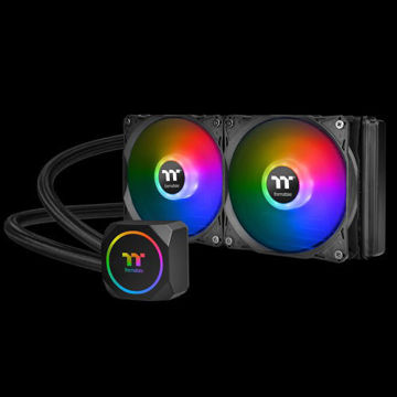 Thermaltake TH240 ARGB Sync AIO Liquid Cooler - CL-W286-PL12SW-A price in india features reviews specs
