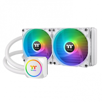 Thermaltake TH240 ARGB Sync Snow Edition AIO Liquid Cooler - CL-W301-PL12SW-A price in india features reviews specs