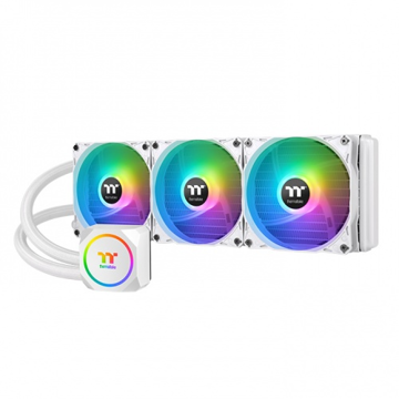 Thermaltake TH360 ARGB Sync Snow Edition AIO Liquid Cooler - CL-W302-PL12SW-A price in india features reviews specs