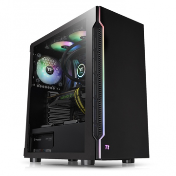 Thermaltake  H200 TG RGB Cabinet - CA-1M3-00M1WN-00 price in india features reviews specs