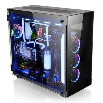 Thermaltake  View 91 Tempered Glass RGB Edition - CA-1I9-00F1WN-00 price in india features reviews specs