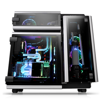 Thermaltake Level 20 Tempered Glass Edition Full Tower Chassis - CA-1J9-00F9WN-00 price in india features reviews specs