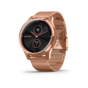 Garmin vivomove Luxe Smartwatch - Stainless Steel price in india features reviews specs
