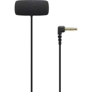 Sony ECM-LV1 Compact Stereo Lavalier Microphone with 3.5mm TRS Connector Online in India at Lowest Prices