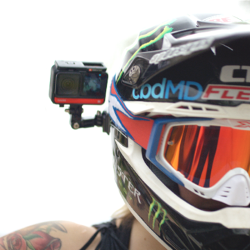 buy Insta360 Helmet Mount Bundle for ONE X2 / ONE R / GO 2 in India imastudent.com