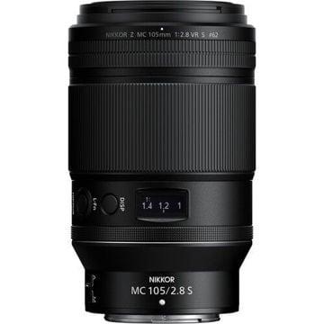 Buy Nikon NIKKOR Z MC 105mm f/2.8 VR S Macro Lens Online in India at Lowest Prices