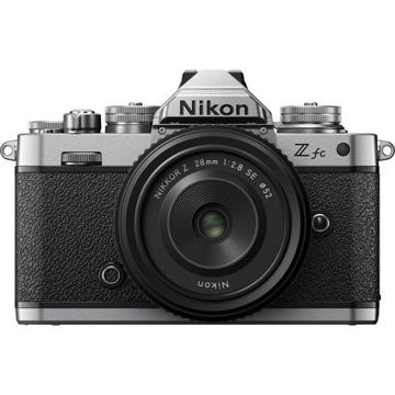 Nikon Z fc Mirrorless Digital Camera with 28mm Lens in india features reviews specs