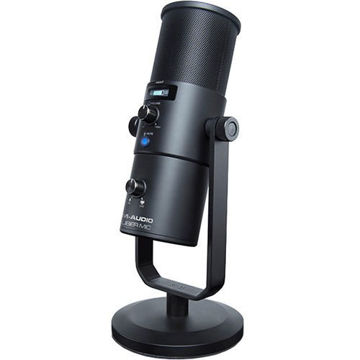 buy M-Audio Uber Mic USB Microphone with Headphone Output in India imastudent.com