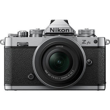 Nikon Z fc Mirrorless Digital Camera with 16-50mm Lens in india features reviews specs