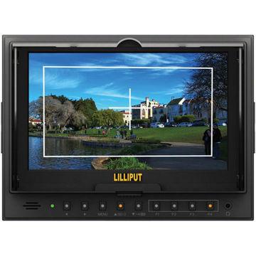 "buy Lilliput 5D-ii/O/P 7"" HDMI LCD Field Monitor in India imastudent.com"
