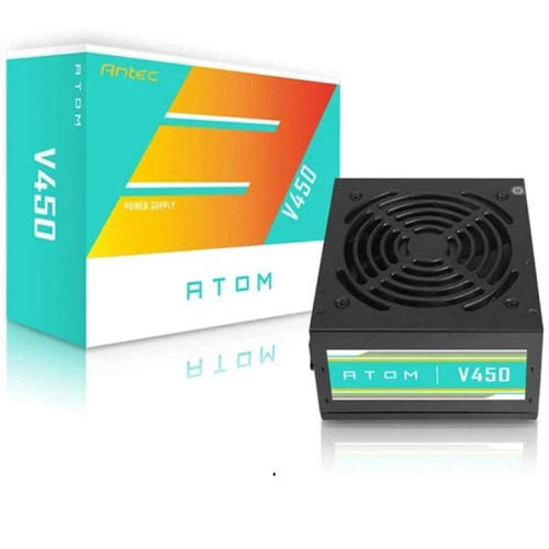 ANTEC ATOM V450 STANDARD CERTIFIED 450W NON MODULAR POWER SUPPLY price in india features reviews specs
