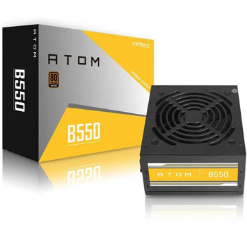 ANTEC ATOM B550 GB 80+ BRONZE CERTIFIED 550W NON MODULAR POWER SUPPLY price in india features reviews specs