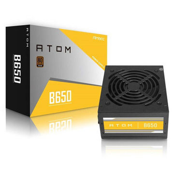 ANTEC ATOM B650 GB 80+ BRONZE CERTIFIED 650W NON MODULAR POWER SUPPLY price in india features reviews specs