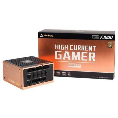 ANTEC HIGH CURRENT GAMER HCG1000 Extreme GOLD CERTIFIED 1000W FULLY MODULAR POWER SUPPLY price in india features reviews specs
