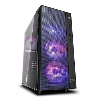 DEEPCOOL MATREXX 55 MESH 4F TEMPERED SIDE PANEL price in india features reviews specs